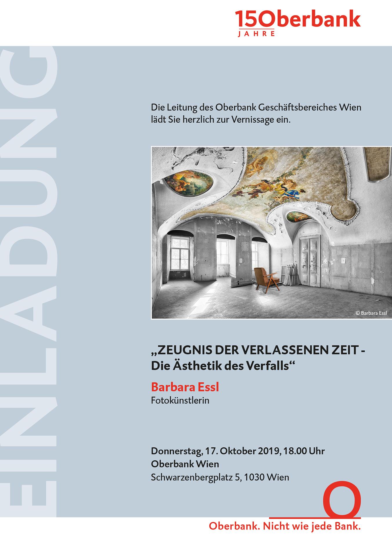 Ausstellung Oberbank